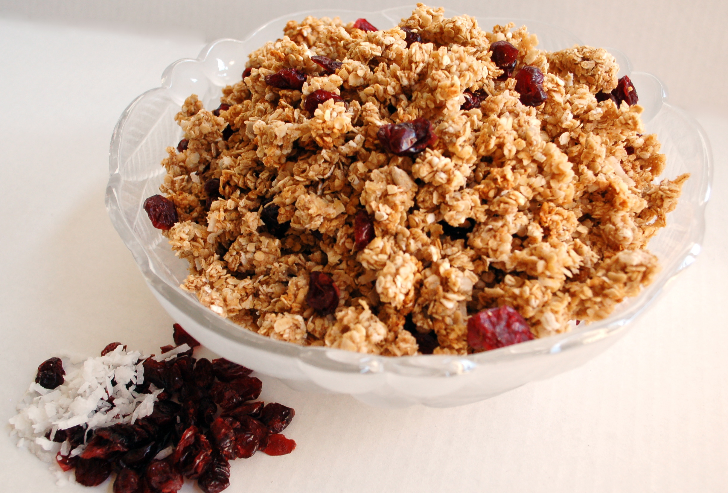 Cranberry Coconut Granola - Table for Fifty