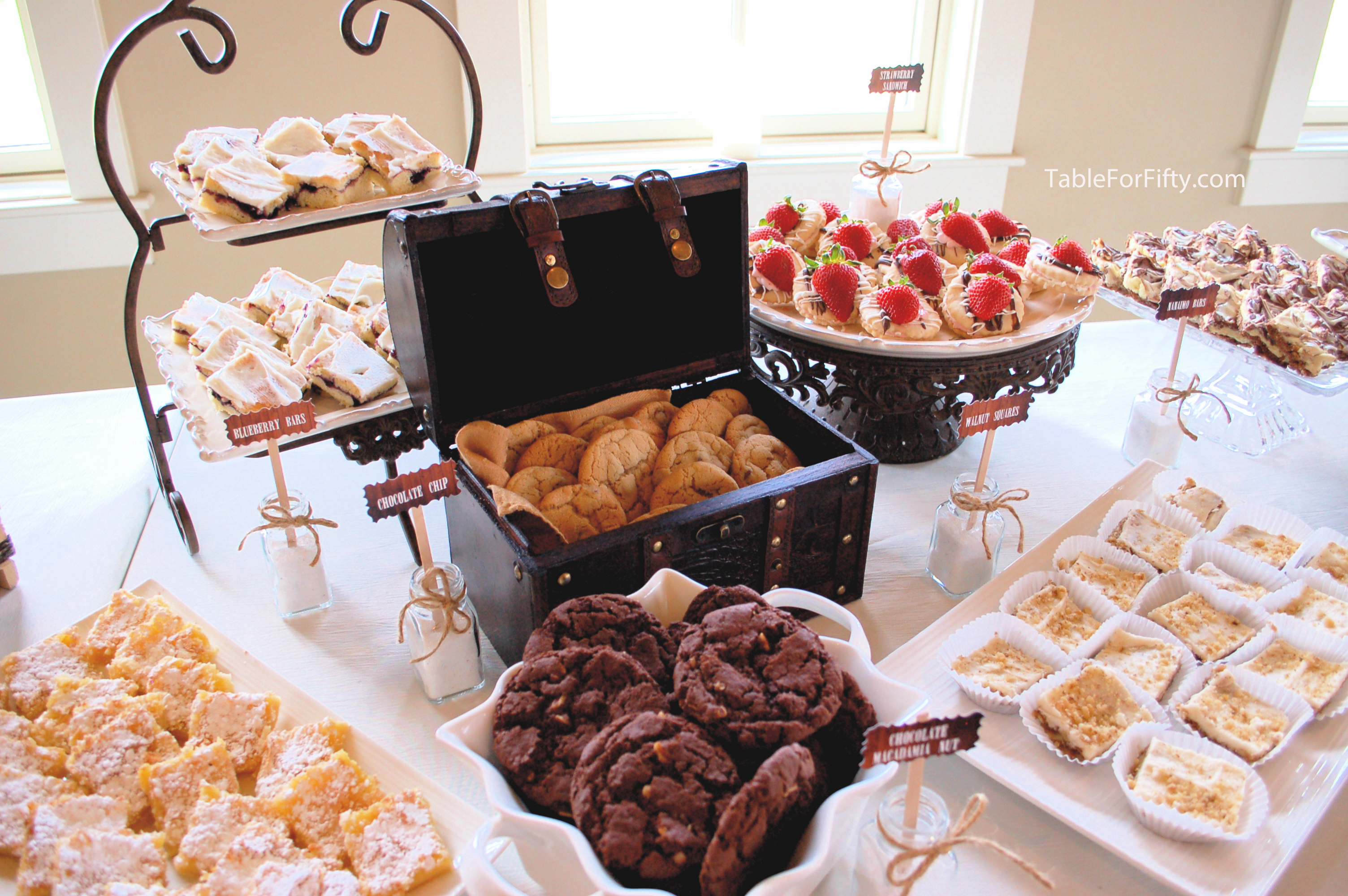 unique wedding buffet ideas Archives - Table for Fifty