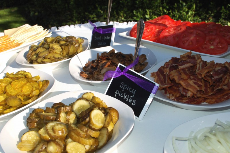 Gourmet bbq wedding